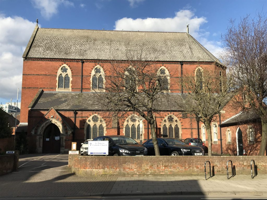 St Pancras Catholic Church Ipswich exterior